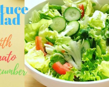 Lettuce Salad – Healthy Salad for Weight Loss