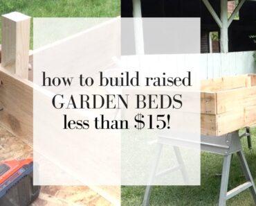 How to Build Cedar Raised Beds