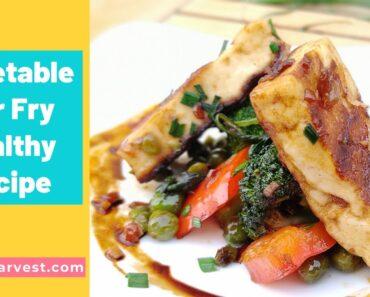 Stir Fry Vegetables Recipe (Guilt Free Cooking)