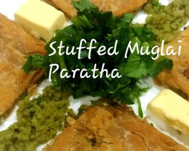 Stuffed Muglai Paratha|Prepared With Organic Vegetables From Kitchen Garden|Healthy|Tasty#quickneasy