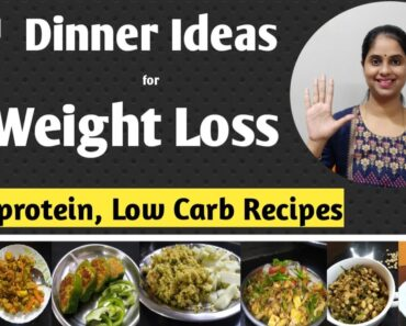7 Dinner recipes for weight loss