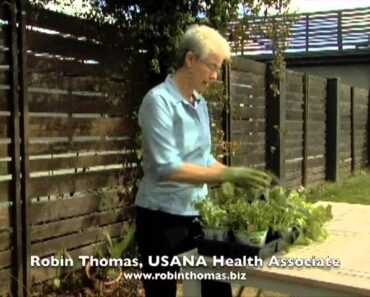 Healthy Gardening Tips with Robin Thomas