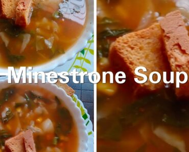 #Shorts Healthy Vegetable soup| Minestrone soup| Soup recipes