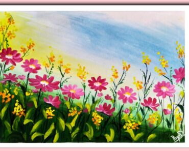 Flower Garden Scenery