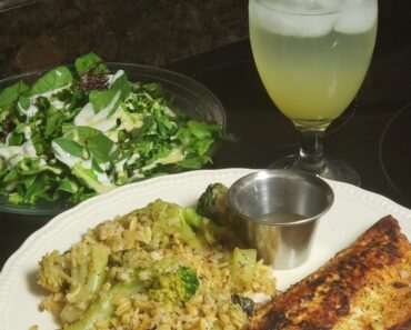 Eating Healthy and Hearty with Fish & Veggies!