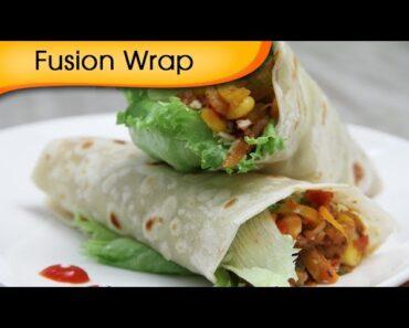 Fusion Wrap – Healthy Veg Wrap