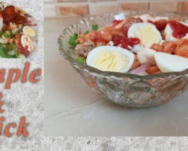 HOW TO PREPARE VEGETABLE SALAD