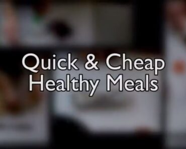 5 Quick and Cheap Healthy Meals