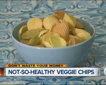Not-so-healthy veggie chips