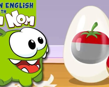 Om Nom Chef: Paint and Learn Healthy Vegetables