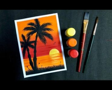 How to Paint with Poster Colours
